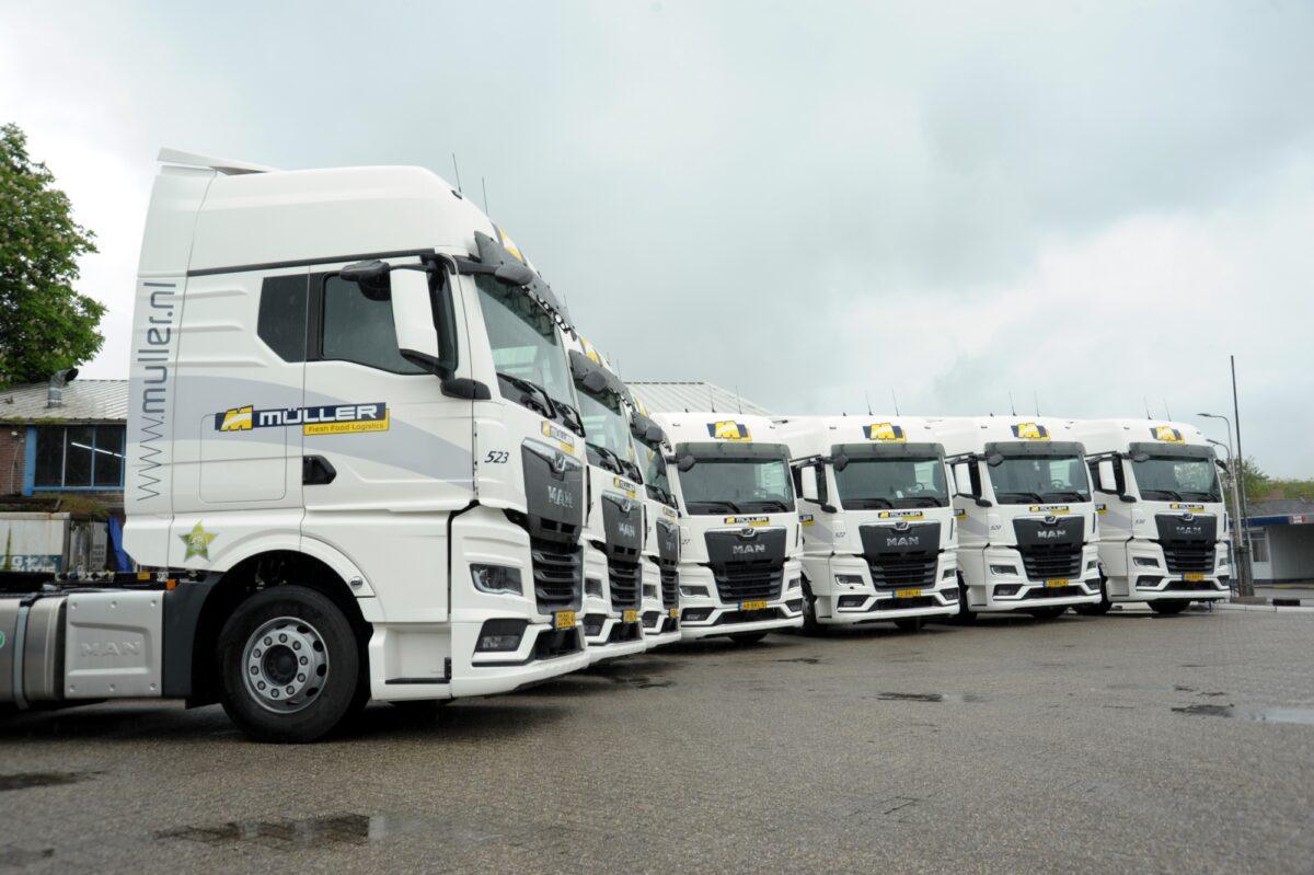 79 MAN trucks voor Müller Fresh Food Logistics
