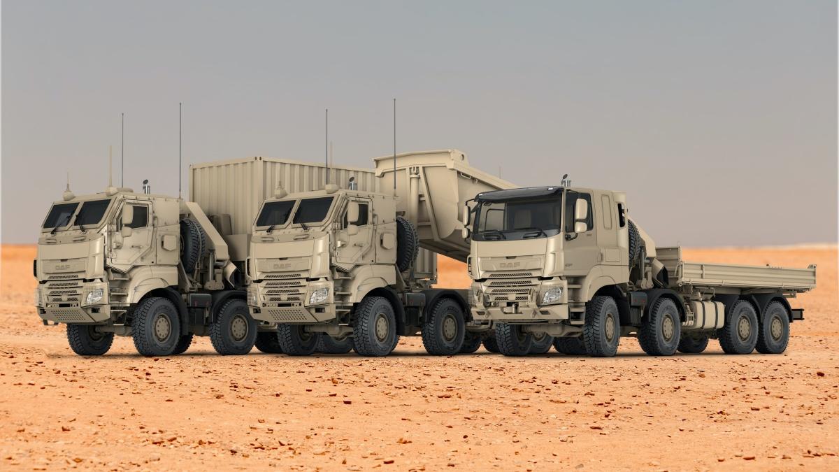 DAF CF Military trucks