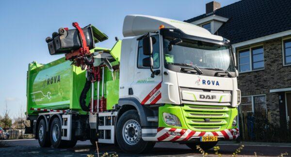 elektrische vuilniswagen DAF CF Electric