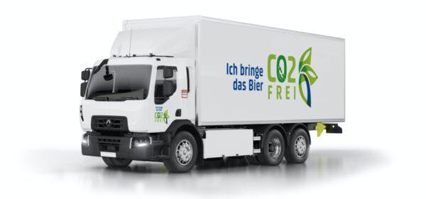Feldschlösschen Elektrische Renault-trucks