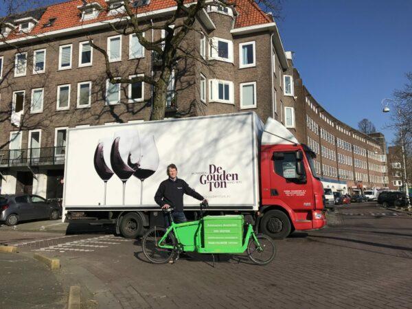 Cargobikes in opmars