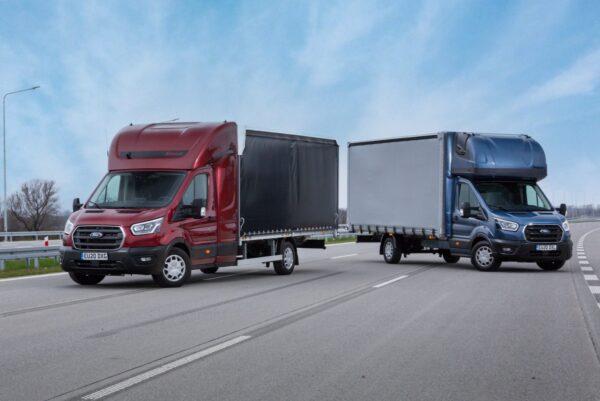Ford bedrijfswagens europa