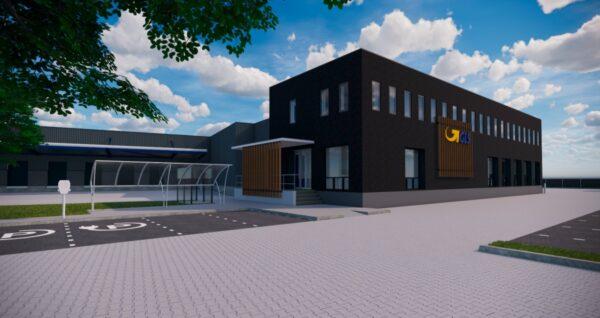 uitbreiding depot GLS Netherlands