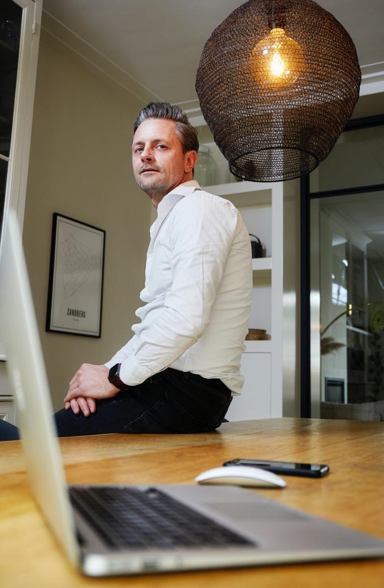 IT-consultant Menno Lambooij