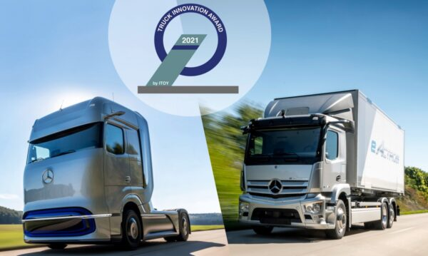 Truck Innovation Award 2021 Mercedes-Benz