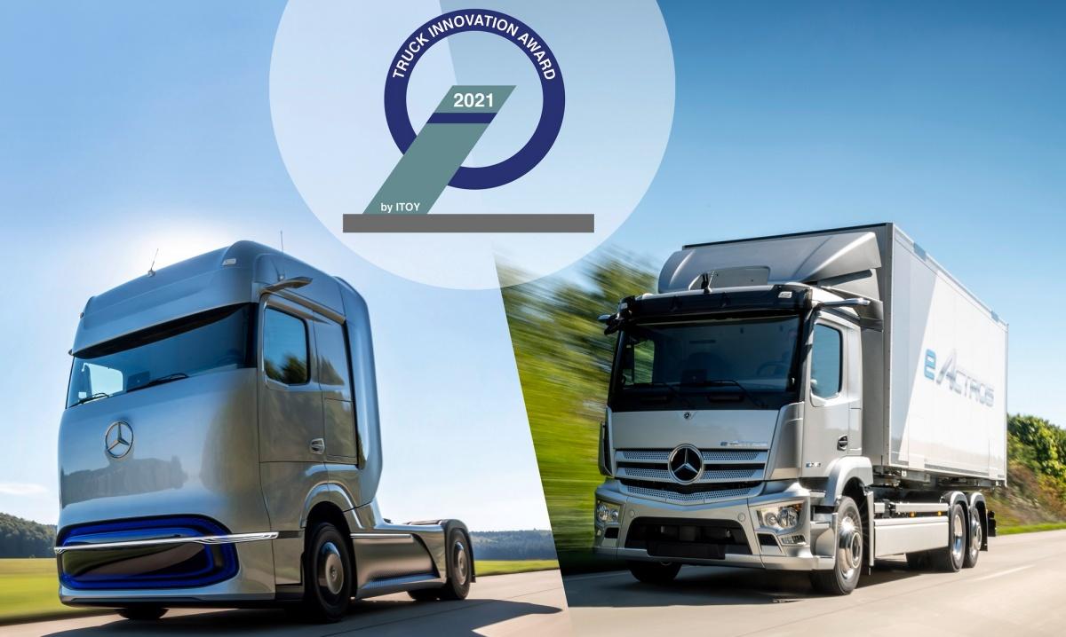 Truck Innovation Award 2021 Mercedes-Benz