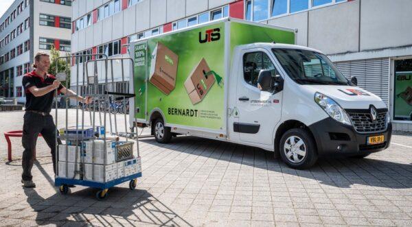UTS Bernardt in Elsloo heeft een Renault Master Z.E. in gebruik genomen. Het bedrijf ziet in de volledig elektrische bedrijfswagen een ideaal voertuig voor last-mile delivery.