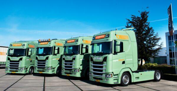 Oegema Transport Scania's S450