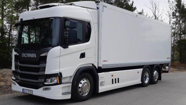 Hybride Scania geschikt voor hvo