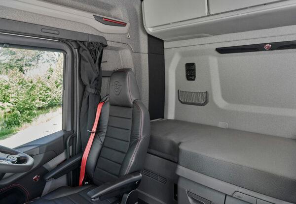 Scania introduceert lange premium cabines voor meer comfort