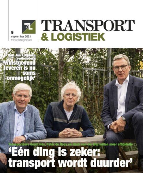 cover transport & logistiek 9 2021