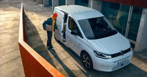 koerier Volkswagen Caddy