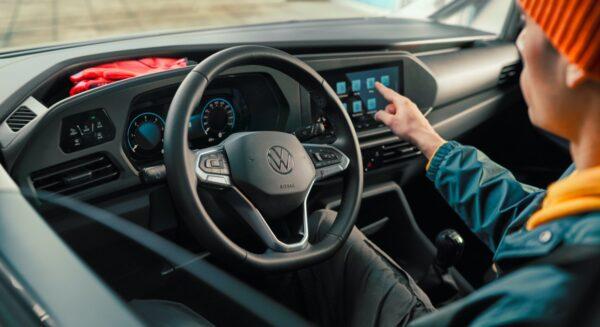 dashboard Volkswagen Caddy