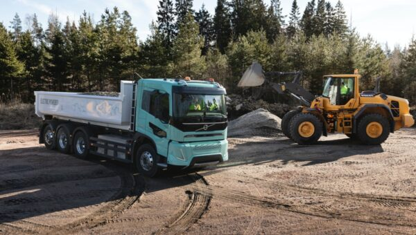 Volvo elektrische concepttrucks