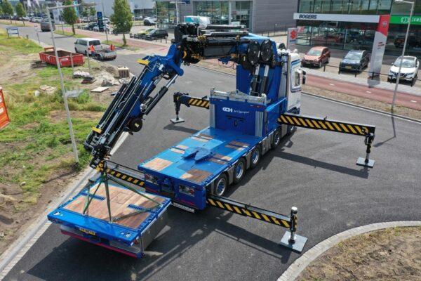 10x4*6 Scania 540S af fabriek