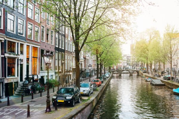 amsterdam-centrum zwaar verkeer