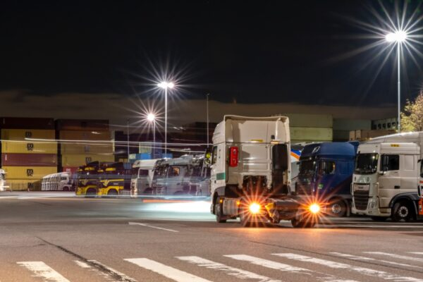 tapa beveiligde truckparkings
