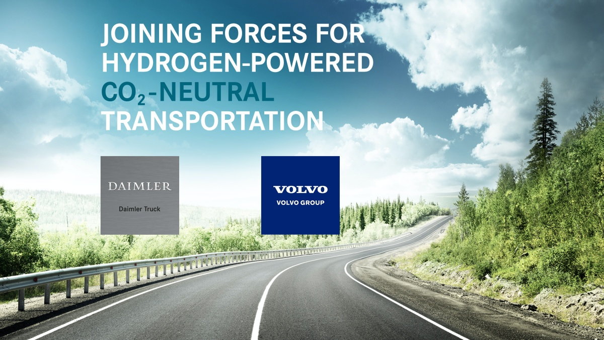 cellcentric nieuwe naam waterstof joint venture Daimler Truck en Volvo group