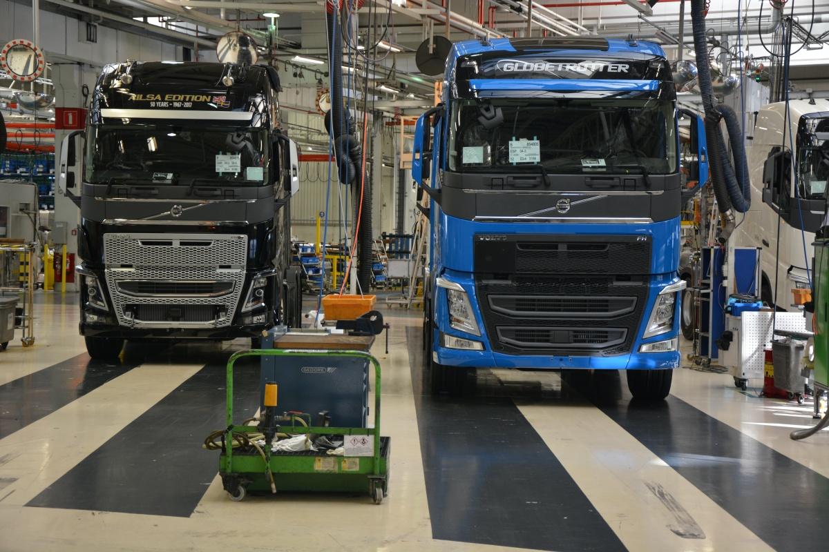 tekort aan chips Volvo trucks