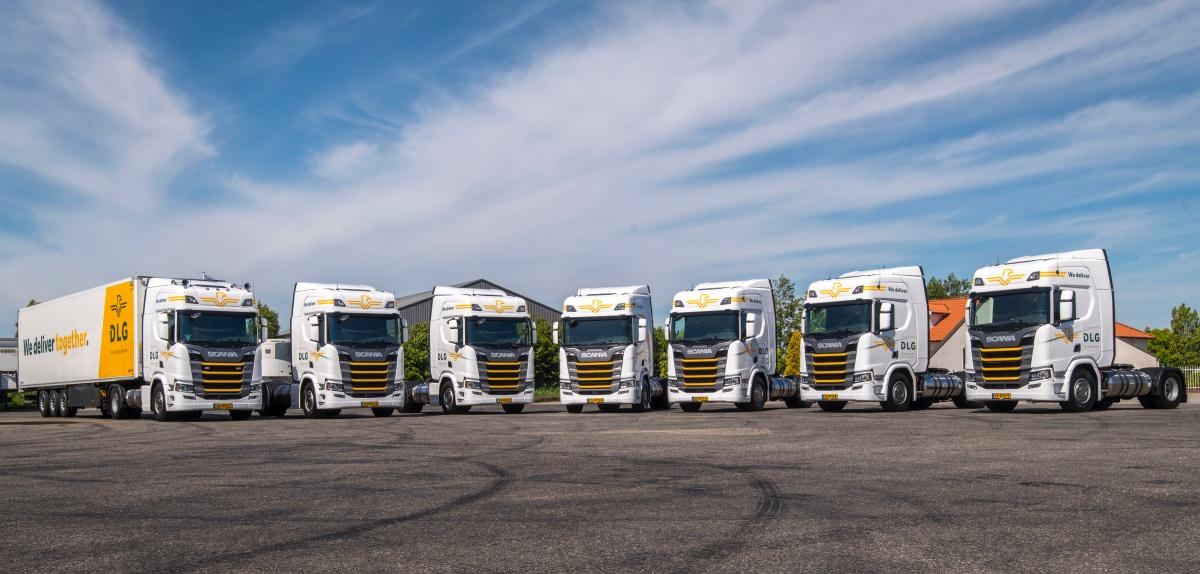 vrachtwagens dlg cornelissen groep