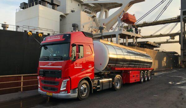 vrachtwagen schenk datagedreven
