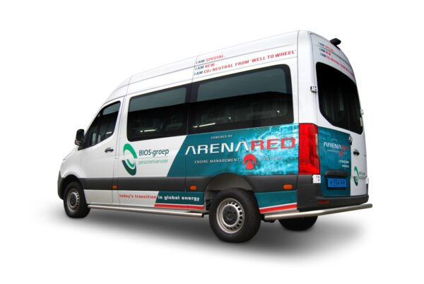 arenared laat dieselmotor op schonere brandstof draaien