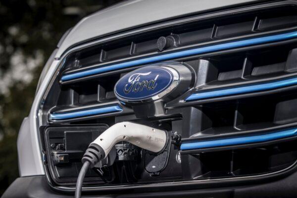 oplaadfunctie elektrische ford e-transit