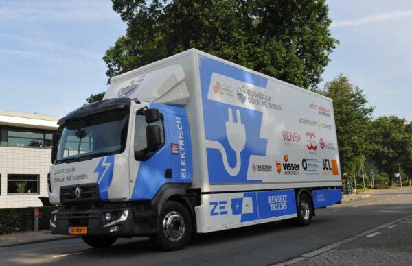 elektrische Renault-truck
