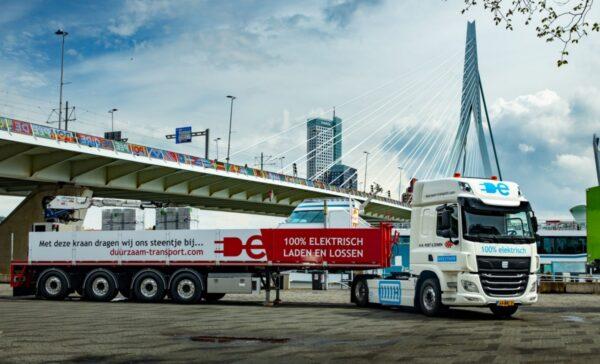 vrachtwagen elektrische trekkers