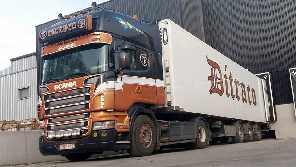 ditraco vrachtwagen