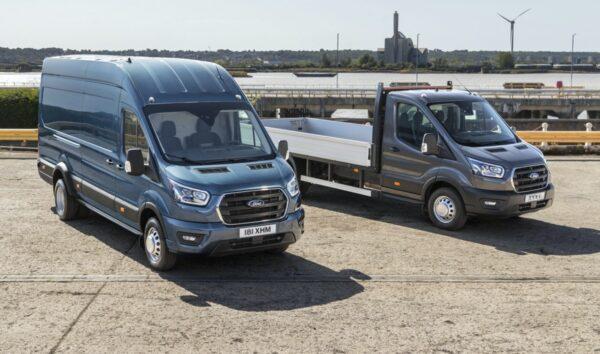 bestelbus pick-up ford transit