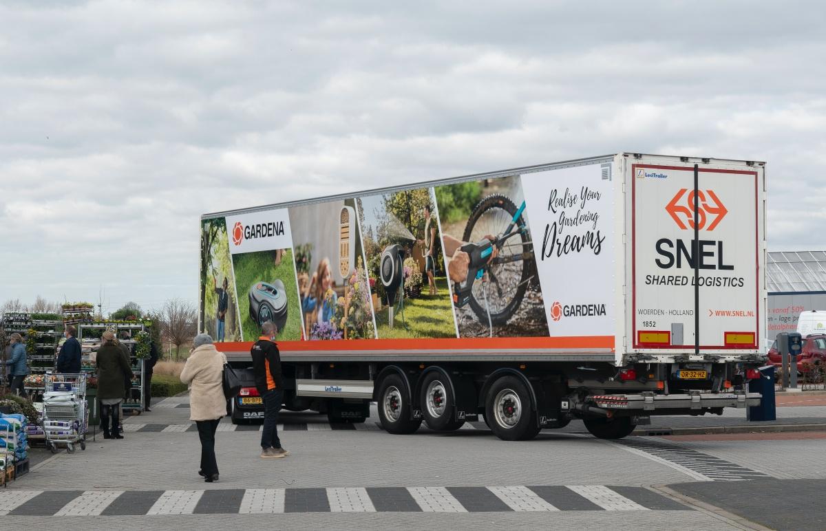 vrachtwagen snel logistics gardena