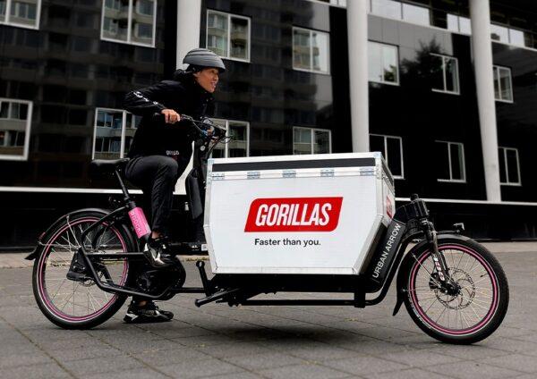 gorillas gaat samenwerken met Dockr