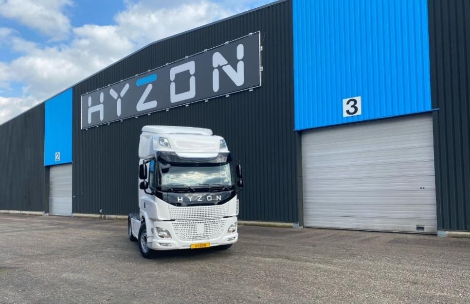 hyzon motors waterstof