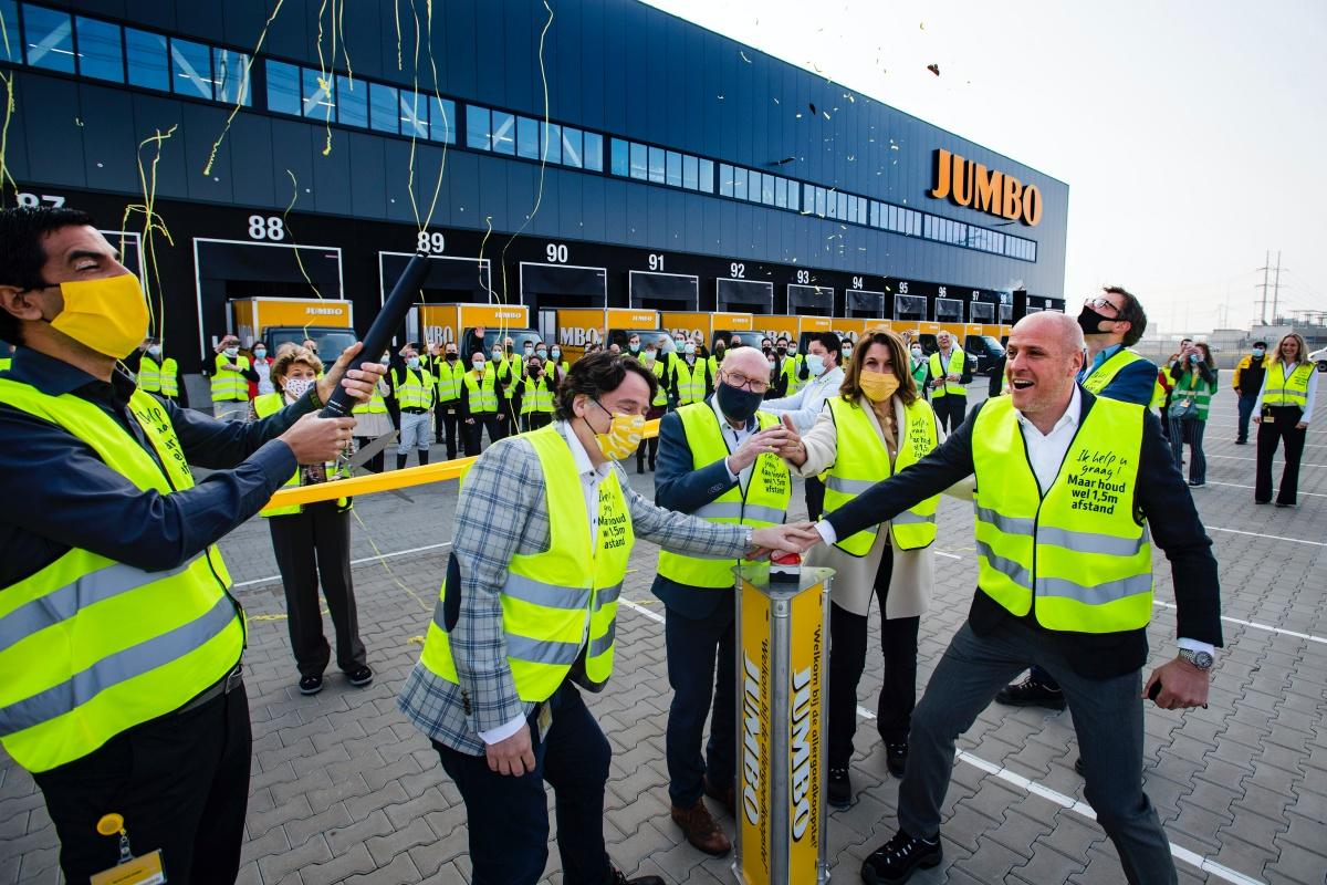 jumbo supermarkten opent e-fulfilmentcenter in bleiswijk