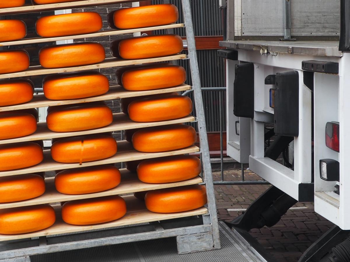 kaas vrachtwagen bakker logistiek albert heijn