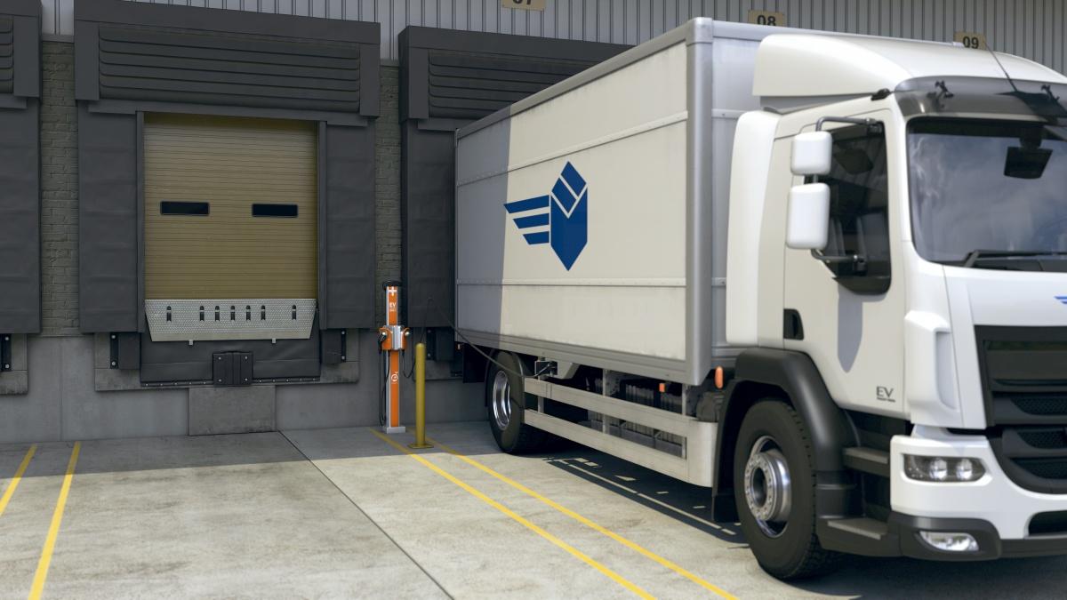 elektrische vrachtwagen laadoplossingen
