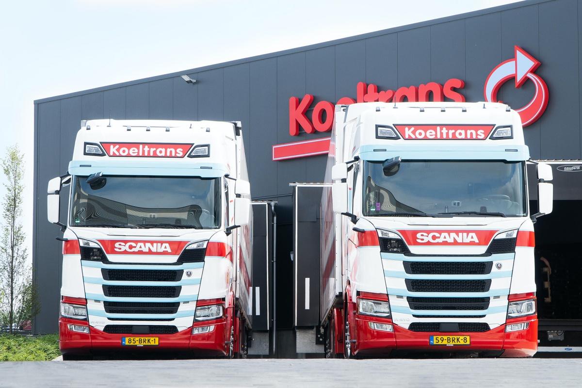 Scania R410 lng-trekker Koeltrans