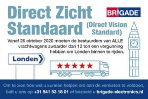 wetgeving direct vision standaard londen