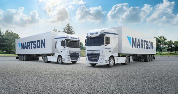 vrachtwagens daf martson