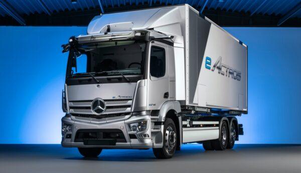 elektrische distributievrachtwagen Mercedes-Benz