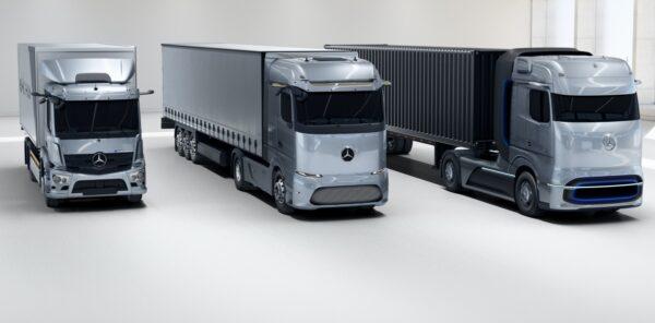 drie e-trucks