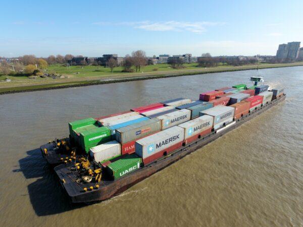 modal shift containervervoer