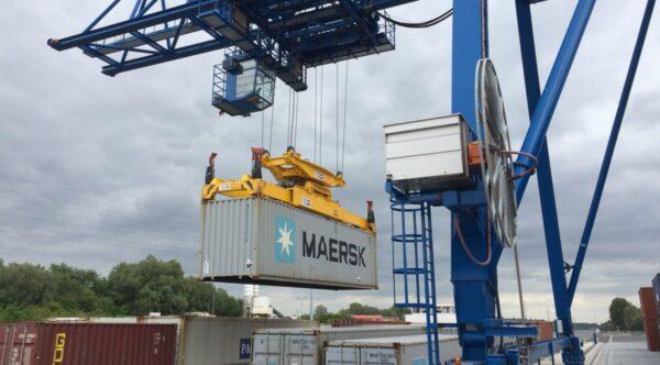 container in haven china nieuwe zijderoute