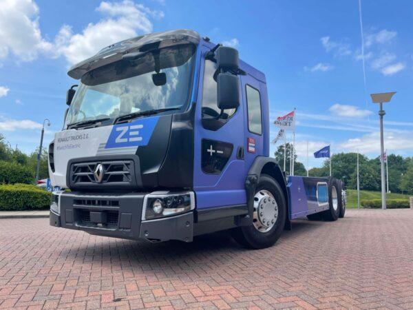 lage instap renault trucks