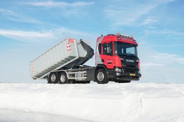 scania thielen containertransport