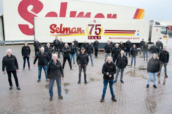 selman transporten bestaat 75 jaar