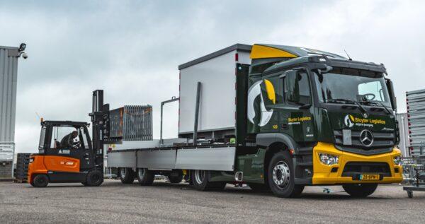 trailer Krone sluyter logistics