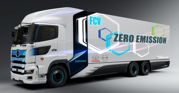 hino toyota fuel cell