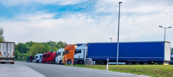 vrachtwagenchauffeurs Europees parlement